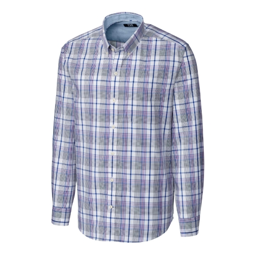 Cutter & Buck Non-Iron Aidan Plaid Shirt Thumbnail