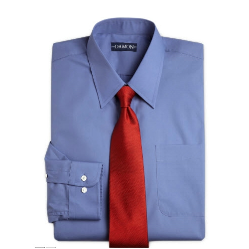 Damon Ultra Poplin Dress Shirt Thumbnail