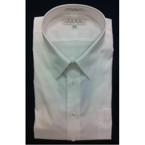 Enro Point Collar Non-Iron Dress Shirt Thumbnail