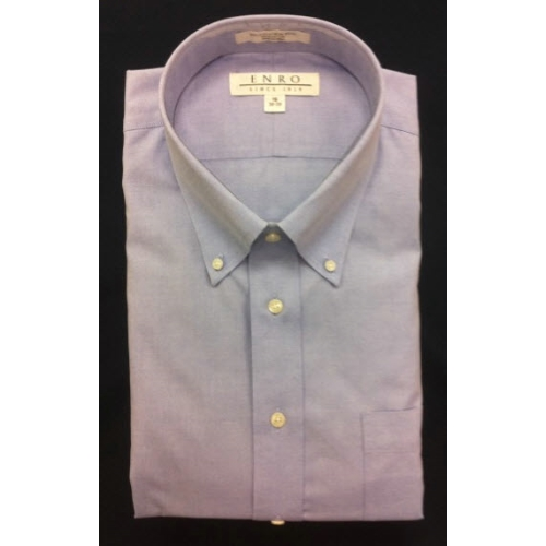 Enro Button Down Non-Iron Dress Shirt Thumbnail
