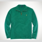 Polo French-Rib Half-Zip Pullover Thumbnail