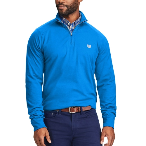 Chaps Quarter-Zip Stretch Sweater Thumbnail