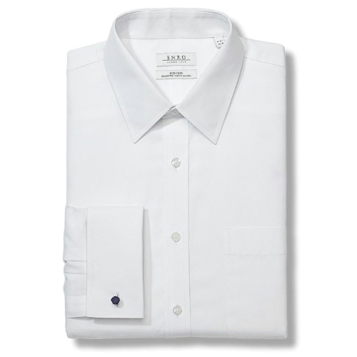 Enro Non-Iron French Cuff Dress Shirt Thumbnail