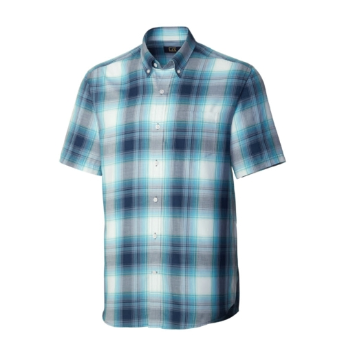 Cutter and Buck Theatre Plaid Sportshirt Thumbnail