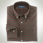 Polo Classic-Fit Oxford Plaid Thumbnail