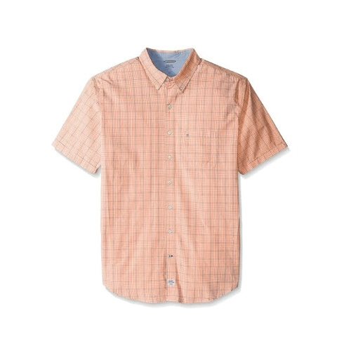 Izod Saltwater Mini Plaid Sportshirt Thumbnail