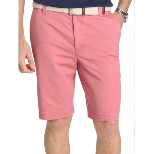 Izod Flat Front Washed Chino Shorts Thumbnail