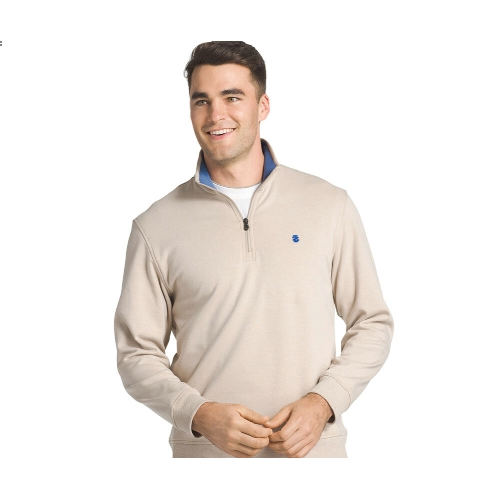 Izod Quarter-Zip Fleece Pullover Thumbnail
