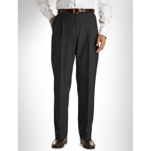 Austin Reed Pleated Wool Slacks Thumbnail