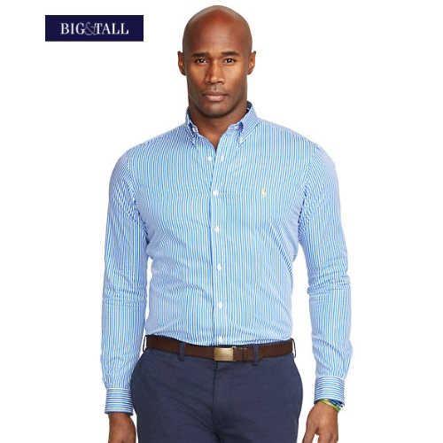 Polo Ralph Lauren Striped Poplin Sportshirt Thumbnail