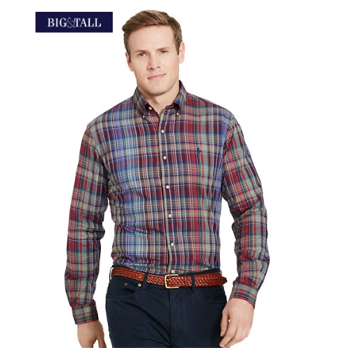 Polo Classic-Fit Plaid Twill Sportshirt Thumbnail