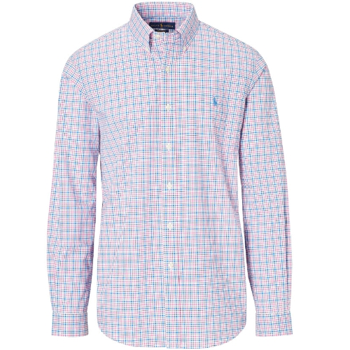 Polo Plaid Cotton Poplin Shirt Thumbnail