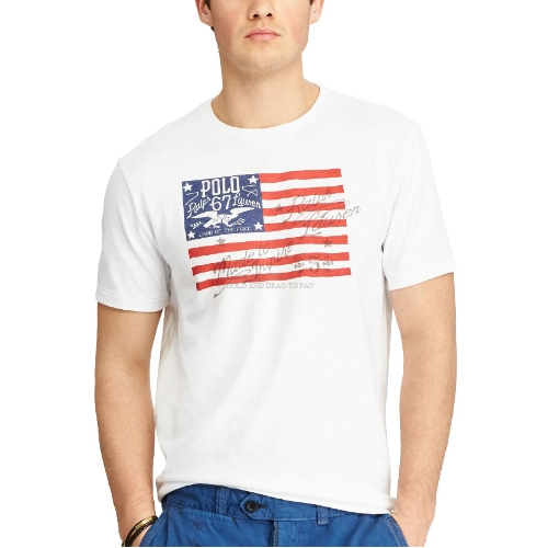 Polo Flag Graphic T-Shirt Thumbnail