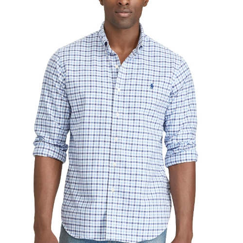 Polo Long Sleeve Oxford Sportshirt Thumbnail