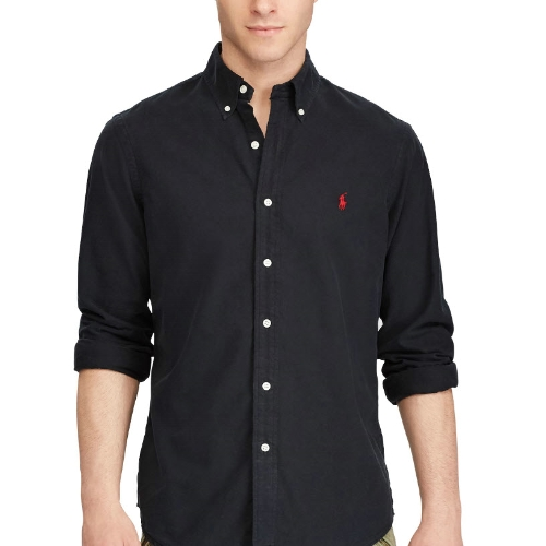 Polo Oxford Garment Dyed Sportshirt Thumbnail