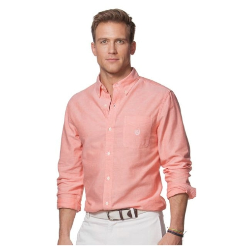 Chaps Long Sleeve Oxford Shirt Thumbnail