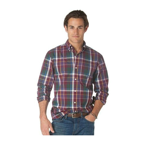 Chaps Northwood Plaid Sportshirt Thumbnail