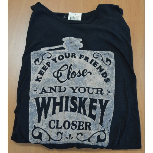 Lucky Whiskey Flask T-Shirt Thumbnail