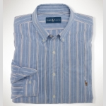 Polo Classic-Fit Multi Striped Oxford Thumbnail