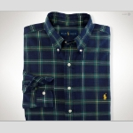Polo Classic-Fit Oxford Plaid Sportshirt Thumbnail