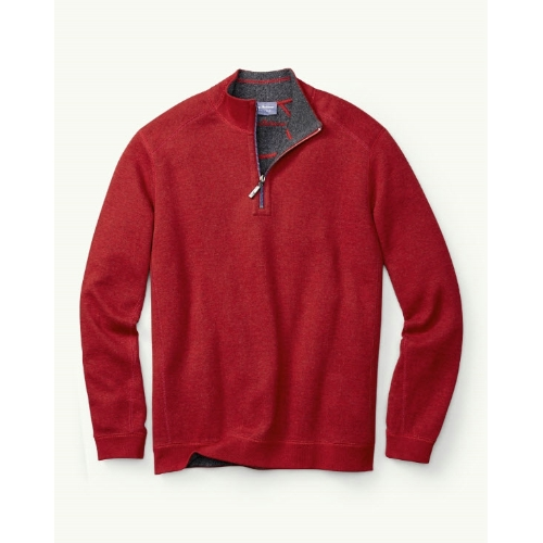 Tommy Bahama Flip Side Reversible Half Zip Thumbnail