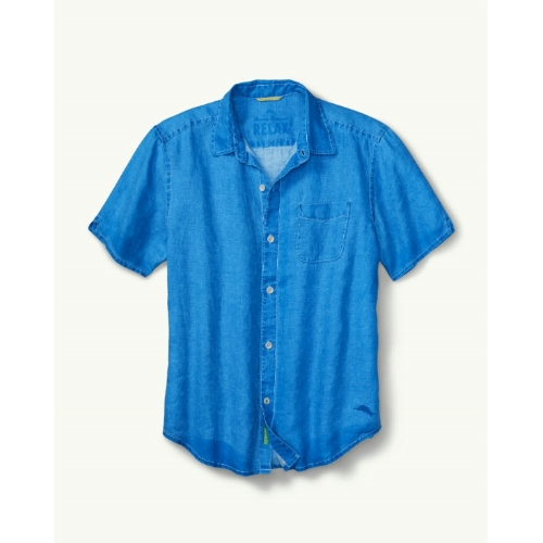 Tommy Bahama Sea Glass Breezer Linen Shirt Thumbnail