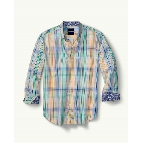 Tommy Bahama Metala Plaid Shirt Thumbnail