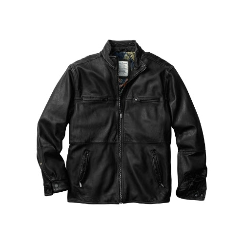 Tommy Bahama Sunrise Leather Jacket Thumbnail