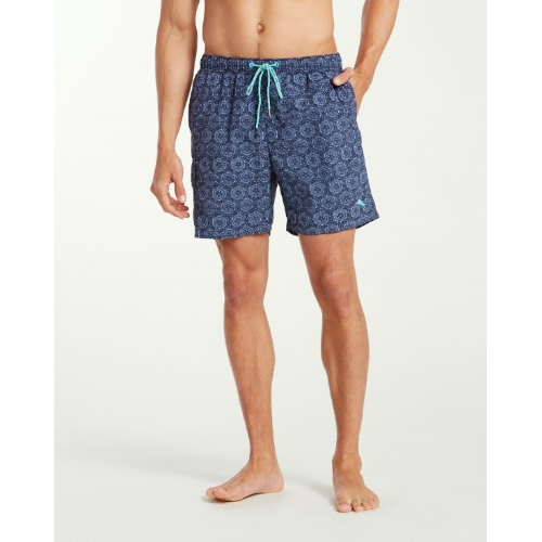 Tommy Bahama Naples Arta Tile Swim Trunks Thumbnail