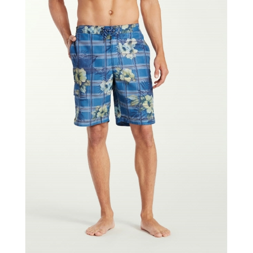 Tommy Bahama Baja House of Plaid Board Shorts Thumbnail