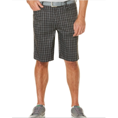 Callaway Opti-Stretch Printed Plaid Short Thumbnail