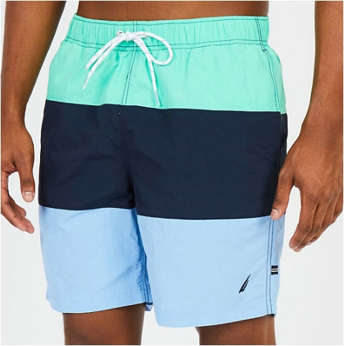 Nautica Anchor Tri-Color Swim Trunk Thumbnail