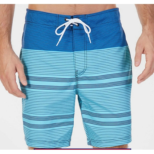 Nautica Striped Swim Trunks Thumbnail