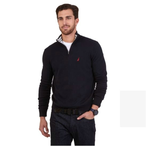 Nautica Quarter Zip Sweater Thumbnail