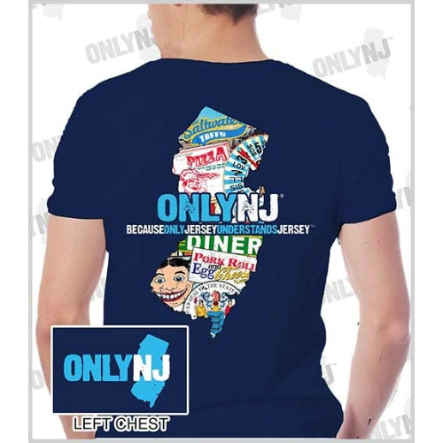 Only NJ Collage T-shirt Thumbnail