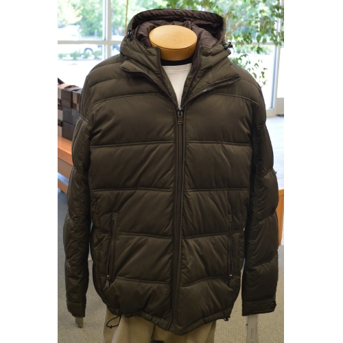 Perry Ellis Hooded Bubble Coat Thumbnail