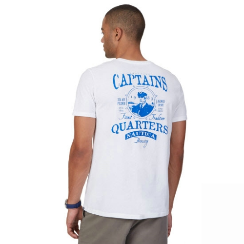 Nautica Captains Quarters Graphic T-Shirt Thumbnail