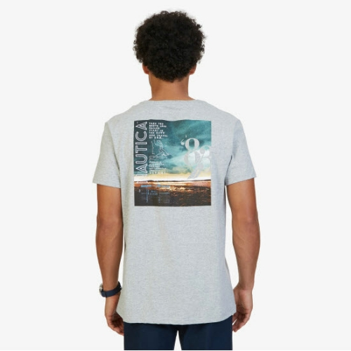 Nautica Photo Graphic T-Shirt Thumbnail