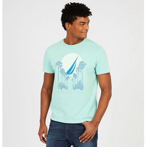 Nautica Palm Trees T-Shirt Thumbnail