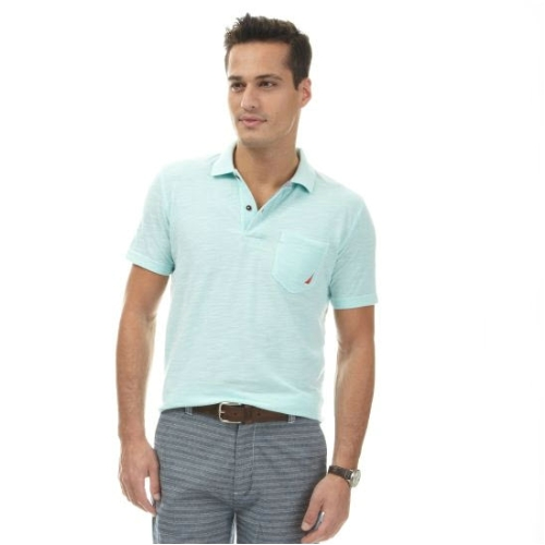 Nautica Oxford Polo Shirt Thumbnail