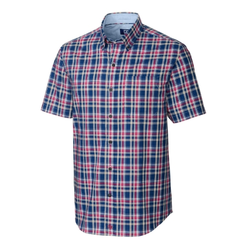 Cutter & Buck Non-Iron Sebastian Plaid Shirt Thumbnail