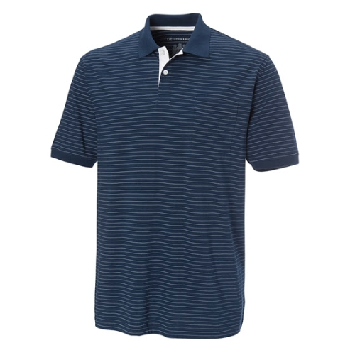 Cutter & Buck West Hill Stripe Polo Thumbnail