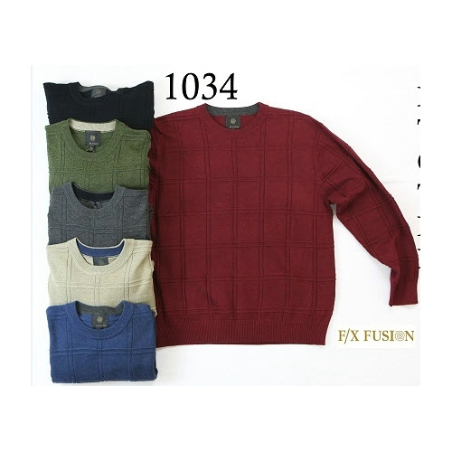 F/X Fusion Crew Neck Sweater Thumbnail