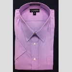 Damon Short Sleeve Poplin Dress Shirt Thumbnail