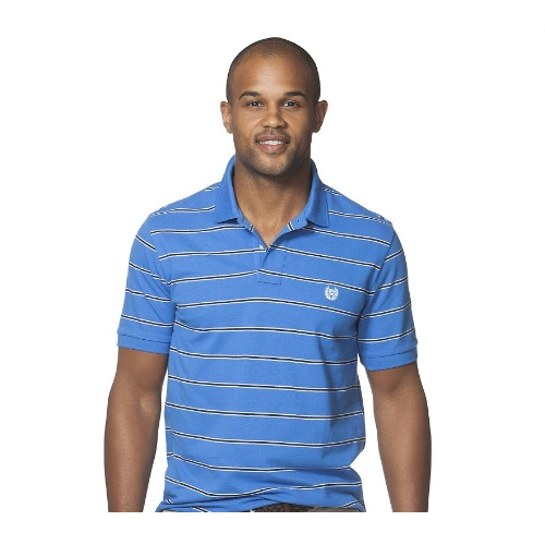 Chaps Short Sleeve Summerland Stripe Polo Thumbnail