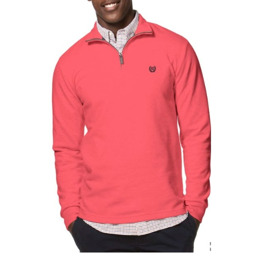 Chaps Quarter-Zip Cotton Pullover Thumbnail