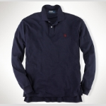 Polo Classic Long Sleeved Interlock Polo Thumbnail