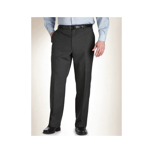 Austin Reed Plain Front Wool Blend Slacks Thumbnail