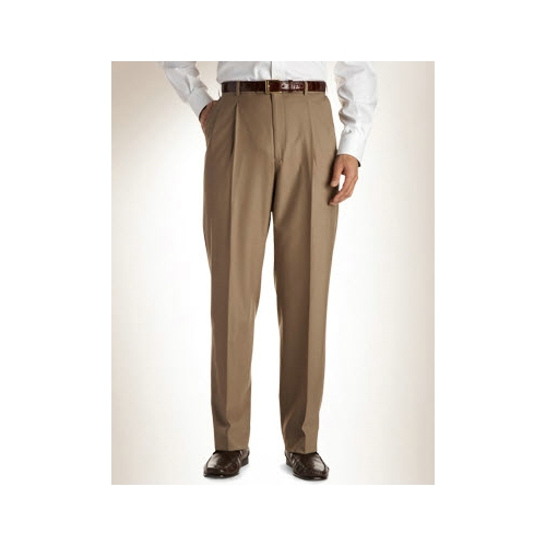 Austin Reed Pleated Wool Blend Slacks Thumbnail