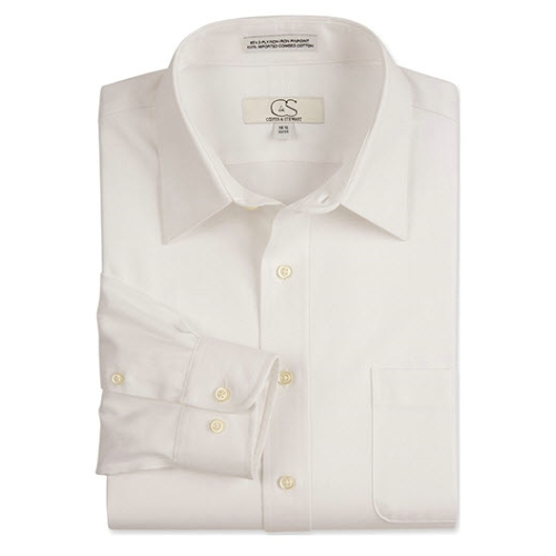 CS HERRBONE DRESS SHIRT Thumbnail